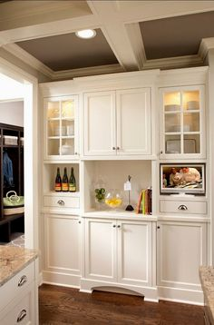 Modern Kitchen Cabinets - CLICK THE PIC for Many Kitchen Cabinet Ideas. 55682742 #cabinets #kitchenorganization