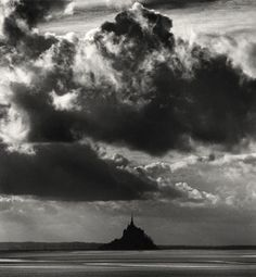 Mont San Michel; one day ... you and me.     (photo: Michael Kenna)