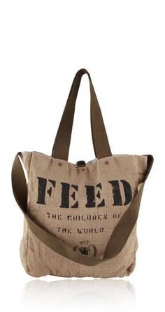Each FEED 2 bag sold feeds 2 children in school for an entire year through  the 09de08a9b