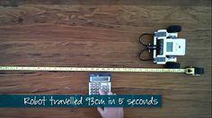 MEProgram Lego Robotic Video - Robot Velocity