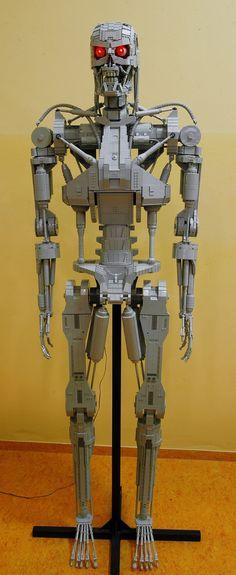 Terminator+T-800+life+size+sculpture