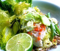 fisk med citrongräs och kokosmjölk