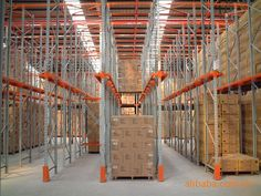 Warehouse drive in pallet rack, Drive-In Rack, Drive In Racking system.This is a last-in, first-out arrangement for your pallets:Drive-In & Drive-Through Racks offer the ability to store a large amount of similar loads in a smaller area.  skype:notsosimple610