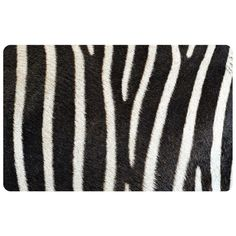 The Bungalow Flooring Multi Color 23 in. x 36 in. Neoprene Zebra Door Mat is made of polyester face for lasting usage. It comes with neoprene sponge rubber backing to prevent from slip and skid. It is an ideal choice for your kitchen. Kitchen Rugs And Mats, Kitchen Mat, Kitchen Ideas, Bungalow Kitchen, Cool Doors, Cold Feet, Garden Doors, White Patterns, New Wave