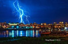 Wow!  Downtown Victoria BC.   Photo by Doug Clement.