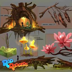 Rad Rodgers - Props Design, Florian Coudray on ArtStation at…