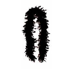 Federboa / Federschal Deluxe schwarz - Feder Boa für 20er Jahre Party, Karneval, Fasching, Charleston , Varieté - ca. 200 cm lang - ca . 100 gr: Amazon.de: Spielzeug