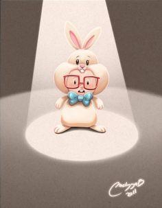 Conejo by Melissa Ballesteros, via Behance