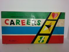 Careers Vintage Board Game by Parker Brothers 1957 Complete with Rules #ParkerBrothers