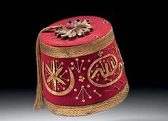 Ottoman Bride Fez, Early 19th Century (Osmanlı Gelin Fesi)