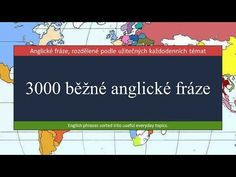 3000 běžné anglické fráze - YouTube English Phrases, English Language, Youtube, School, English People, English, Youtube Movies