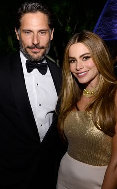 Joe Manganiello and Sofia Vargara...  Really?!?!  There's just way too much pretty in this relationship. Holy smokes!