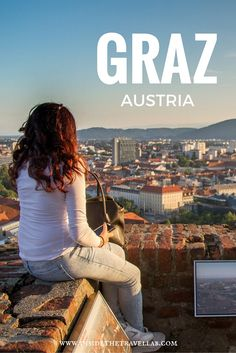 Graz, Austria - the cool city of design with a sugar laced bakery that dates back centuries. A cool and unusual weekend break in Europe via Best Cities In Europe, Places In Europe, Places To Travel, Travel Europe, Travel Destinations, Innsbruck, The Places Youll Go, Cool Places To Visit, Weekend Breaks Europe