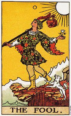 00 - El Loco TAROT DE RIDER – WAITE - 1910