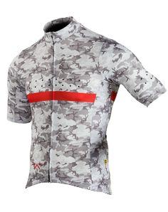 Full Gas Aero   RideCAMO   M   Jersey - White Cycling Gear c37d1c39b
