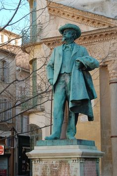 Frederic Mistral. Arles. Provence-Alpes-Cote d'Azur