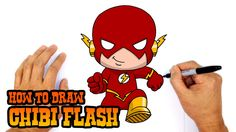 How to Draw Flash (Chibi)- Kids Art Lesson