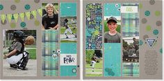 Perfect boys' #scrapbook layout from #CTMH