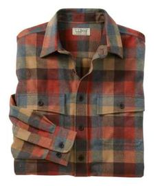 Find the best Men's Chamois Shirt, Plaid at L. Our high quality Men's Shirts are thoughtfully designed and built to last season after season. Rugged Style, Casual Shirts For Men, Casual Button Down Shirts, Men Casual, Button Shirts, Scottish Plaid, Light Jacket, Moda Masculina, Outfits