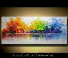 Original Abstract Painting Modern Textured by xiangwuchen on Etsy, $368.00