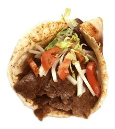 A great recipe that is as close to the real thing as I've tasted, and my own version of the sauce they serve on it. Donair Meat Recipe, Donair Sauce, Doner Kebab Sauce Recipe, Sauce Recipes, Meat Recipes, Cooking Recipes, Yummy Recipes, Traeger Recipes, Donut Recipes