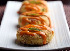 Olives for Dinner | Hearts of Palm Crab Cakes by Jeff and Erin's pics, via Flickr