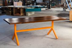 Tulsa Dining Table by Monroe Workshop