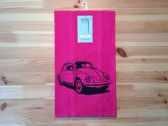 Counter Couture Design - VW Beetle Dish Towel, $14.00 (http://www.countercouturedesign.com/vw-beetle-dish-towel/)