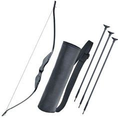 The Rustic Bow & Arrow Costume Accessory Kit includes three arrows with rubber tips, a sleek black bow, and a fabric quiver. Wear this plastic weaponry with medieval costumes, archer costumes, Robin Hood costumes and more! Halloween Party Supplies, Halloween Costume Shop, Halloween Items, Halloween Kids, Dog Costumes, Adult Costumes, Costume Ideas, Archer Costume, Arrow Costume