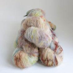Qing Fibre Melted Baby Suri - 4ply Knitting Yarn | Tangled Yarn UK Suri Alpaca, Finger Weights, Needles Sizes, Knitting Yarn, Tangled, Yarns, Merino Wool, Vibrant Colors, Fiber
