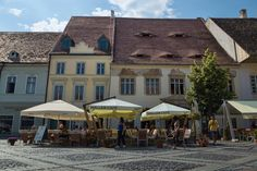 Eyes of Sibiu 4 Romania, Rooftop, Mansions, Eyes, House Styles, Villas, Rooftops, Palaces, Mansion