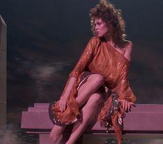 Sigourney Weaver as Dana Barrett from Ghostbusters.