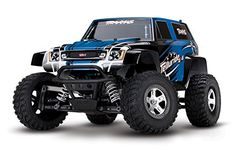 Traxxas Telluride: 4X4 Electric Extreme Terrain 4WD Monster Truck (1/10 Scale), Blue