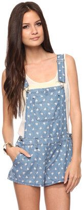 ShopStyle: Forever 21 Sailboat Chambray Overall