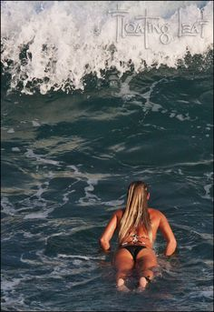 Our Bali Surf and Yoga Retreat headed to Uluwatu for some near perfect surf. We met a young woman who bravely set out into Bali's best surf Surf Girls, Beach Girls, Beach Bum, Wind Surf, Bali, Surf City, Surf Wear, Wakeboarding, Windsurfing