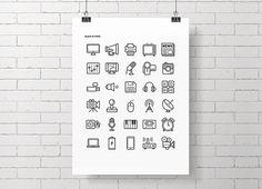 ICON ELECTRONICS_Graphic on Behance