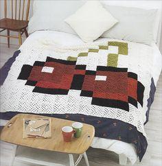 Pixel Crochet Cherries design by Hannah Meur