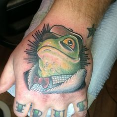 Neotraditional Mr. Toad from The Wind in the Willows by Eddie Focht at Heart & Soul Tattoo; Eastgreenville, PA.