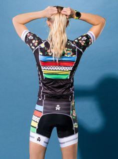 betty designs womens world champion cycle jersey cycle short