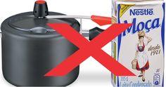 """Uma das perguntas que mais geram polêmicas nos grupos de culinária é """"Posso cozinhar a caixinha de l..."""