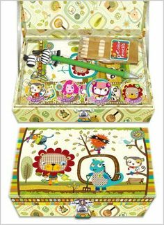Eco Snoopers Trinket Box with Color Pencils, Memo Pad, Pen, Stickers and Lock by Drawing Accessories. $18.00. Each Eco Snooper character has its own story of fun, friendship, and environmental responsibilty. Eco Snoopers paper products are made with recycled fibers. Fun trinket box features all of the colorful and quirky Eco Snoopers characters. For ages 5 years and older. Comes complete with fun accessories including 3-D stickers, colored pencils and memo pad. This fun trinke...