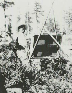 John Singer Sargent painting in Giomein, Italy in 1905