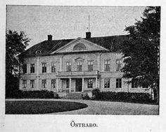 Esaias Tegnérs biskopsgård Östrabo utanför Växjö, där Viktor Rydberg faktiskt vistades flera gånger under sin gymnasietid.