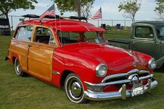 1950 Ford Woodie..Re-pin brought to you by agents of #Carinsurance at #HouseofInsurance in Eugene, Oregon