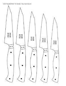 Knife Patterns V Knife Patterns, Pdf Patterns, Forging Knives, Knife Template, Kitchen Utilities, Steak Knives, Utility Knife, Handmade Knives, Custom Knives