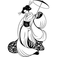 japanese silhouette - Google Search
