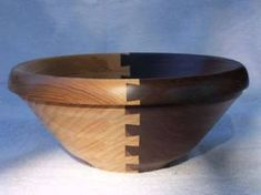 Dovetail sectioned bowl