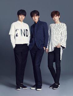 Infinite F - Blue - L, Sungyeol, Sungjong