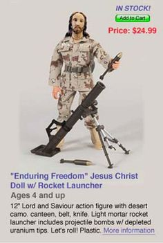 Enduring Freedom Jesus Christ