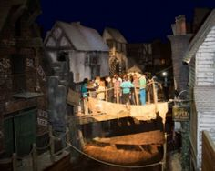 A  picture from Dickens World at Chatham Dockside Kent - well worth a visit